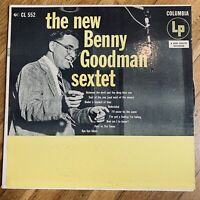 THE NEW BENNY GOODMAN SEXTET VINYL LP COLUMBIA CL 552 GOOD CONDITION