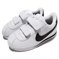 Nike Cortez Basic SL TDV White Black Toddler Infant Baby Shoe Sneaker 904769-102