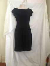 Ralph Lauren Collection women's black wool dress, size US0