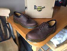 Dr Martens 8053 brown crazy horse leather shoes UK 5 EU 38 mod gaucho 1461