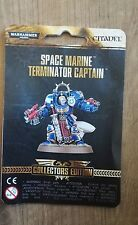 warhammer 40k,SPACE MARINE TERMINATOR CAPTAIN COLLECTORS EDITION