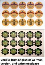 Puzzle Strike Promo Chips 2012 spielbox promo David Sirlin NEW