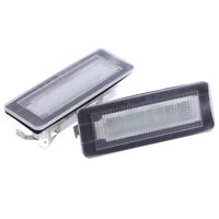 2STK LED Kennzeichenleuchte  Nummernschild Lampe für Smart Fortwo W450 451