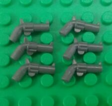 *NEW* Lego Pistol Guns Revolver Cops Robbers Cowboys Figures Figs - 6 pieces