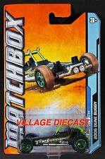 2012 Matchbox #19 2006 Dune Buggy SMOKE GREY/TIKI BEACH/RINGED FLOWER WHEEL/MOC