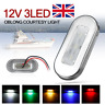 12V Courtesy Light Mount Car Yacht Marine Boat Cabin Deck Stair Lamp Waterproof