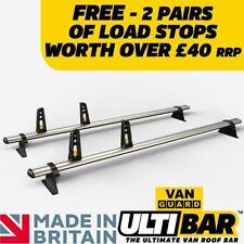 Vauxhall Vivaro Roof Rack 2014 On Low Roof 2x Roof Bars Van Guard ULTI Bar