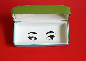 Kate Spade New York Glasses/Sunglasses Green/Blue Hard Case/Box