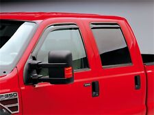 WINDOW VISORS FOR FORD F250 SUPERDUTY ( IN-CHANNEL 4PC SET) 1999-2016 CREW CAB