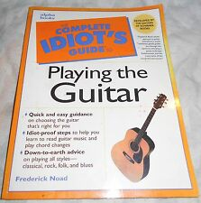 """The Complete Idiot's Guide to Playing the Guitar"" Book"