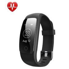 Bluetooth Smart Bracelet Fitness Tracker Heart Rate Sleep Monitor Calorie Step