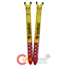 Pokemon Pikachu Retractable Ballpoint Pens 2 color pen