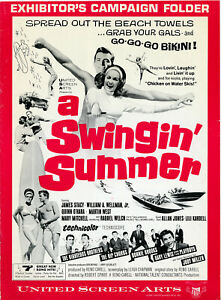 A SWINGIN' SUMMER (1965) • Introducing Raquel Welch • Unfolded complete