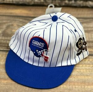NFL New York Giants & Taz Vintage Drew Pearson Fitted Youth Boys Rally Cap Hat
