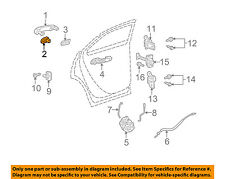 GM OEM Exterior Rear Door Lock-Cover Cap 15895670