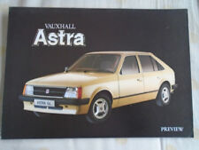 Vauxhall Astra preview brochure c1980