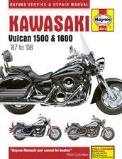 Haynes Workshop Manual For KAWASAKI VN 1600 B2H MEAN STREAK 2005
