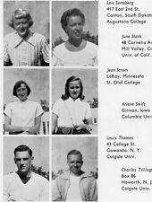 1950 University of Oslo Norway American School Yearbook~Photos~History~Candids++