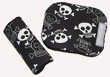 Baby skull pirate siège voiture pour bébé chaise haute ceinture harnais cover pads * nouveau rembourré *