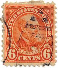 (USA74) 1922 6c orange Garfield ow639