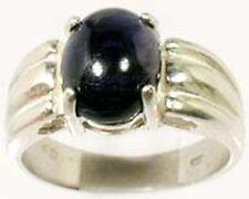 18thC Antique 2 3/4ct Violet Iolite Viking Navigation Gem Sterling Ring