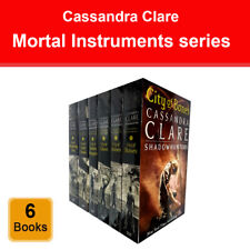 Cassandra Clare Mortal Instruments 6 Books Collection Set Shadowhunters