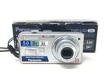 Panasonic LUMIX DMC-LS2 5.0 MP Digital Camera – Silver with 3x Image Stabilizer