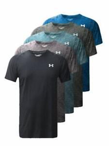 Brand New Under Armour Men UA Tech Short Sleeve Tee T-Shirt Top SMALL CUT***