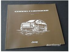 2016 Jeep Grand Cherokee Laredo Summit Limited Altitude SRT Prestige Brochure