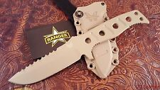 Benchmade 375SN Adamas Fixed KNIFE Desert Sand Coat Blade Sand Sheath military