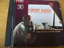 COUNT BASIE HIS ORCHESTRA THE LEGEND CD RARISSIMO BENNY CARTER  ROULETTE ITALY