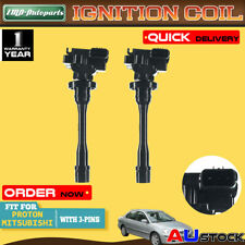 2Pcs for Mitsubishi Pajero Lancer Outlander ZE Nimbus Proton Waja Ignition Coil