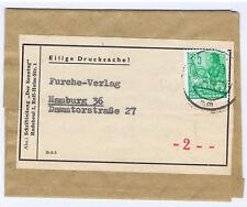 DDR, Mi. 405 EF, Streifband-Drucksache v. Radebeul nach Hamburg