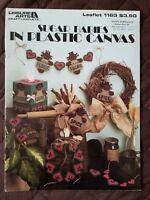 Sugar Babies in Plastic Canvas Leisure Arts Leaflet 1163 1988 MW155 Super CUTE