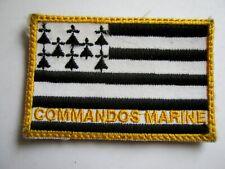 ECUSSON COMMANDOS MARINE (VARIANTE EN COULEUR) SUR VELCROS ETAT EXCELLENT