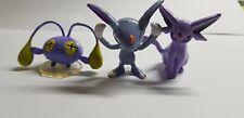 """Pokemon TOMY 2"""" figures ESPEON,SNEASEL AND CHINCHOU,NINTENDO,CGTSJ, FREESHIP!"""