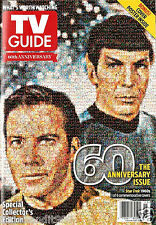 """TV Guide 60th Anniversary Special Collector's Issue """"Star Trek"""" Magazine. 2013."""