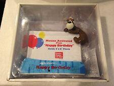 Gotta Getta GUND Goober Bear Motion Activated Musical Happy Birthday Frame 4x6