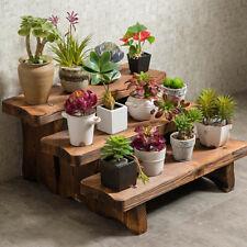 Flower Pot Stand Bench Stool Shelf Storage Shoe Holder Stepped Indoor