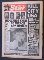 NATIONAL STAR #2 February 16 1974 tabloid newspaper