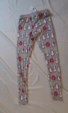 NWT Nite Nite Penguin PJ legging bottoms sz Medium