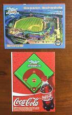 2002 Cal Ripken Inaugural Aberdeen IRONBIRDS MLB Baseball Pocket Schedule