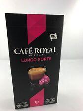 100 cafe royal cápsulas para nespresso Classic lungo forte 16 variedades 5,78 €/100gr.