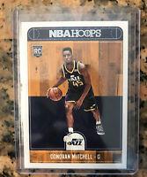 2017-18 Panini NBA Hoops #263 Donovan Mitchell Utah Jazz RC Rookie Psa ?? MT 🥶