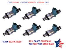 6x OEM Denso Fuel Injectors For 1999-2002 Toyota Solar 3.0L V6    #23250-20010