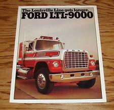 Original 1976 Ford LTL-9000 Truck Sales Brochure 76