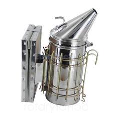 Bee Hive Smoker Stainless Steel Manual Bee Smoke Sprayer Beekeeping Equipment UK