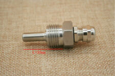 """Thermowell thread 1/2"""" (DN15) stainless steel 304  Length 30mm"""