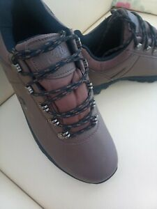 Cotton Trader Hook and Loop Closure Fastening Men's Shoes Size 9  Brown