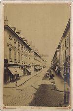 Tours Rue Royale Vintage albumine ca 1890